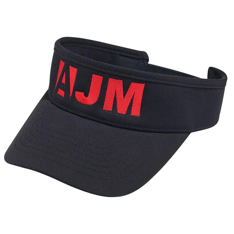 Deluxe Blended Chino Twill Visor (Adult & Youth)
